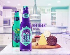 Bee Beer is a Brazilian craft beer. Still being created. A sweet and strong beer. Made with honey. It has two flavors: Beetroot and lemon.I did all the graphics: logo, labels, packaging, illustrations and ads.Bee Beer é uma cerveja artesanal brasileira…