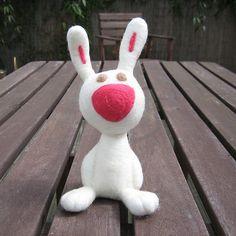 Rabbit by amanocrafts, via Flickr