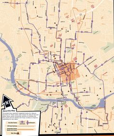 Suggested bike routes to the University of Texas at Austin campus [from UT Austin Parking and Transportation Services http://www.utexas.edu/parking/transportation/biking/maps.html]