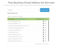 Dossierc is one of the best known free email addresses providers that allows the users to connect with the right audience. We help the businesses to improve sales and return on investment (ROI). Free Email Address, Business Emails, Connect