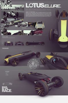 LOTUS ELLURE (2012) by Quentin Huber, via Behance