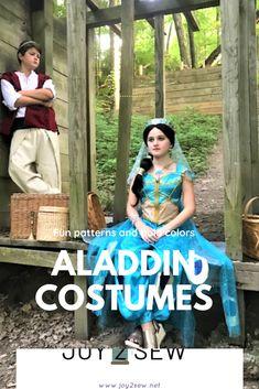 Aladdin and Jasmine photo shoot.