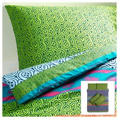 LAPPLJUNG Quilt cover and 4 pillowcases - 200x200/50x80 cm - IKEA