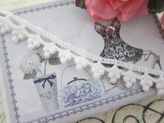 "Elegant Cotton Tiny Dott Lace 0.5"" - White by NatashaScrapbooKorner, $1.20 USD"