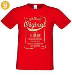 Herren-Fun-T-Shirt Original seit 70 Jahren Geschenk zum 70 Geburtstag auch