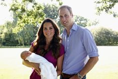 Kate Middleton - Official Portraits of Kate, Will, and Baby Prince George *full photo*