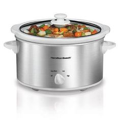 Hb Oval 4qt Slow Cooker *** Click image to review more details. (This is an affiliate link)