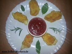 Selber-Macherin: Mozzarella Sticks und Brie Ecken mit Tomatensoße schnell und einfach selbermachen