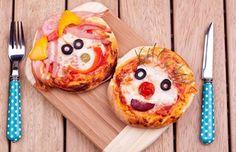 Mini Animal Pizza Faces   Better Living