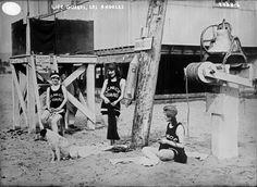 Venice Beach life guards circa 1917.