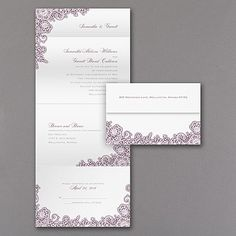 A Little Lace - Seal 'n Send Invitation - Ecru. A little lace makes a big impact! Especially when you get to choose the color of the lacy design on this ecru, vintage style seal 'n send wedding invitation. Discount Wedding Invitations, Affordable Wedding Invitations, Inexpensive Wedding Venues, Anniversary Invitations, Vintage Invitations, Lace Wedding Invitations, Wedding Invitation Suite, Bridal Shower Invitations, Invitation Design
