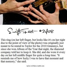 That is such a great story. It just shows how down to earth and truly phenomenal and sweet she is! She makes me proud to call myself a swiftie!! -KMI