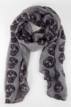 skull scarf for-the-love-of-fashion