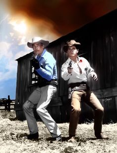 Lawman tv show, John Russell, Peter Brown Peter Brown Actor, John Russell, Tv Westerns, Baby Grows, Wild West, Cowboys, Movie Tv, Tv Shows, Hipster