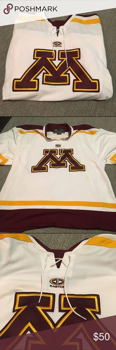 2000s University Of Minnesota Gophers Nike Team Hockey Jersey Championship Year Hockey-other Fan Apparel & Souvenirs