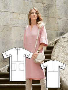 Read the article 'Feline Attitude: 9 Sophisticated New Women's Sewing Patterns' in the BurdaStyle blog 'Daily Thread'.