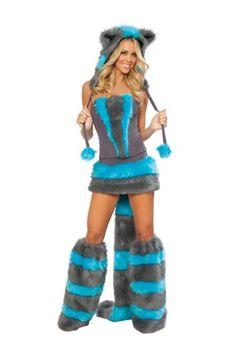 55.99 Sexy Blue Cat Costume Rave Costumes d29e963fb219