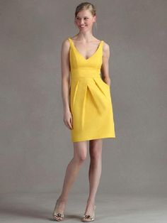 Summer Makeup With Bright Yellow Dress!