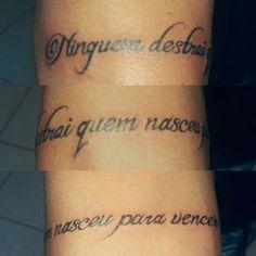 Tattoo Escrita