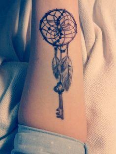Dream Catcher Tattoo › Creative Elegant Dream Catcher Tattoo
