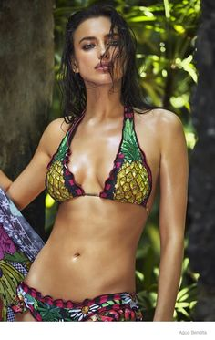 irina shayk agua bendita swimwear 2015 ad campaign09 Irina Shayk Brings the Heat for Agua Bendita's 2015 Swimsuit Ads