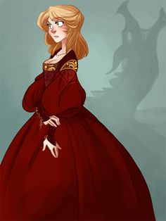 I could never see Victoria wearing red that often, but the colors could be a symbolism for the near future