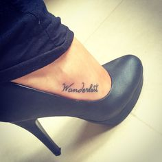 Loving my new tattoo more and more <3