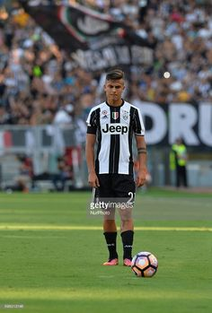 Paulo Dybala during the Italian Serie A football match between S.S. Lazio and F.C. Juventus at the Olympic Stadium in Rome, on august 27, 2016.