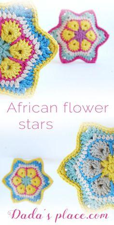 65 Best Crochet African Flower Images Crochet African Flowers