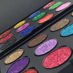 The make up brand behind the best pressed glitter eyeshadow that everyone is talking about. Shop our huge range of amazingly sparkly pressed glitter eyeshadow with over 25 colours to choose from. Glitter Injections, The Make, How To Make, Magnetic Palette, Glitter Eyeshadow Palette, Cruelty Free Makeup, All That Glitters, Hair Makeup, Cosmetics