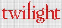 Twilight cross stitch pattern by moonprincessluna Cross Stitch Pattern Maker, Cross Stitch Patterns, Cross Stitch Freebies, Yarn Thread, Sewing Stitches, Plastic Canvas Crafts, Knitting Charts, Stitch 2, C2c