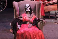 """Doña Beatriz de Ossorio -Fabularia Teatro - """"El Señor de Bembibre 2.1."""", en el Teatro Bérgidum (Ponferrada, León)"""