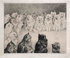 Cats by Louis Wain