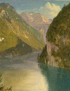 Frederic Edwin Church, Königssee, Bavaria, 1868