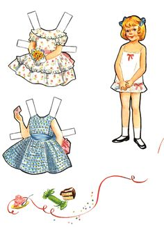 Going to a Holiday Party Paper Dolls | Purple Kitty