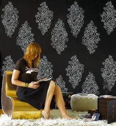 Beautiful Nama Rococo wallpaper in Serious Bokay!
