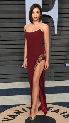 Oscars 2018 Afterparty Dresses and Preparty Dresses - Jenna Dewan Tatum in Pamella Roland