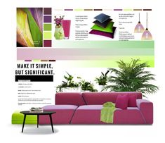 """""""Make it simple."""" by rugile-pp ❤ liked on Polyvore featuring interior, interiors, interior design, home, home decor, interior decorating, WAC Lighting, Parlor, Rizzy Home and Kate Spade"""