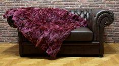 Christams Gifts, Faux Fur Bedding, Purple Dye, Bedding Master Bedroom, Fur Accessories, Fur Blanket, Fur Throw, Furniture Covers, Fur Fashion