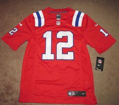 ad53a6e1173 Nike New England Patriots  12 Brady Limited Mens Football Jersey S Red  Stitched  Nike