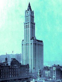 New York - History - Geschichte: Woolworth Building
