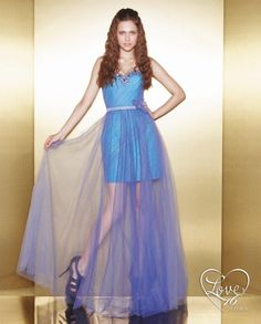 e198a1e5e25 Great A-line Sweetheart Ruffles And Beaded Tulle Floor Length Prom Dress