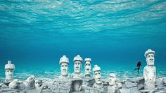 Deerfield Beach Readies For New Easter Island Themed Artificial Reef