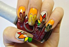 polishophrenia thanksgiving #nail #nails #nailart