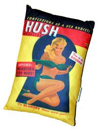 "PIN-UP TYYNY ""HUSH"" - Mojos"