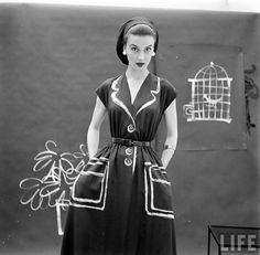 #fashion #vintage #hermes #1950s