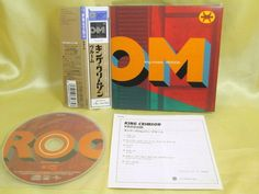 CD/Japan- KING CRIMSON Vrooom w/OBI mini-LP RARE GATEFOLD COVER UICE-9063 #ExperimentalRock