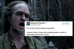"13 Hilarious Tweets About ""A Series Of Unfortunate Events"""