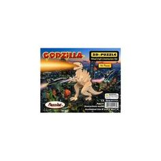 Puzzled 1117 3D Puzzles - Godzilla -Pack of 6