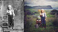 La collezione si chiama Dancing with Costică realizzata dalla fotografa Jane Long e raccoglie alcuni scatti realizzati dal fotografo rumeno Costica Acsinte.